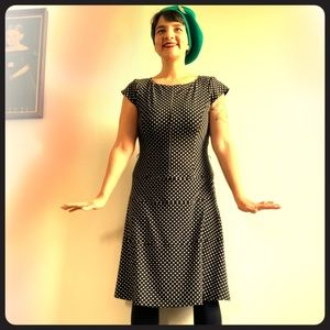 Vintage 90's polka dot dress.